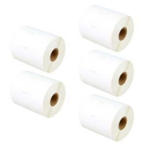 5x Address Postage Labels 1785353 For Dymo Labelwriter 4xl 1050 Labels Per Roll