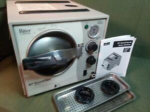 Ritter M7 Speedclave Autoclave Sterilizer Dentist tattoo Pre Owned Works