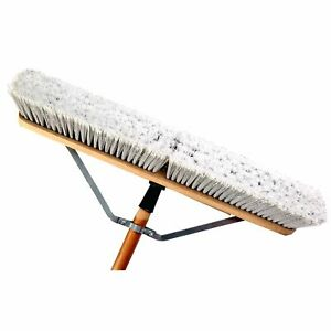 Laitner Brush Company 1425aj 24 Assembled Smooth Surface Push Broom