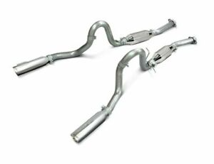 Slp Performance Loudmouth Ii Cat Back Exhaust 99 04 Mustang Gt Mach 1 M31007a