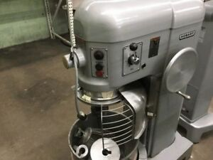 Hobart H 600t Donut Dough Mixer 60 Quart With Bowl Paddle Whip