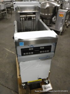 New Frymaster Fpre114sc Electric Digital Deep Fryer With Filtration System