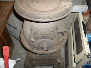 Antique Pippin Hardwick Stove Co Pot Belly Cast Iron Stove No 120 Cleveland Tn