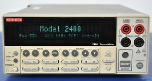 Keithley 2400 Sourcemeter Smu source Meter Nist Calibrated With Warranty