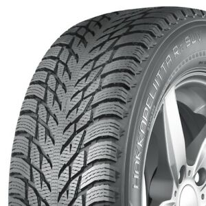 2 New Nokian Hakkapeliitta R3 Suv 225 65r17 106r Xl Studless Winter Tires