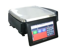 Hobart Hti 7lh26 Meat Deli Ht Counter Scale With Printer Grocery Seafood Pos