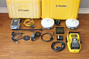 Trimble Dual R8 Model 2 Gps Gnss Glonass Base Rover Rtk System W Tdl 450h Tsc2