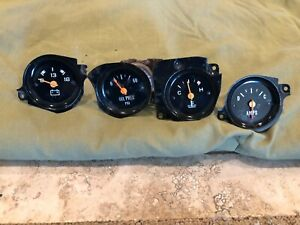 1973 1987 Chevy Gmc Pickup Pick Up Gauges Battery Oil Temperature Voltage