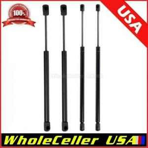 2 Hood 2 Rear Window Glass Lift Supports Shocks Struts For 03 06 Ford Expedition
