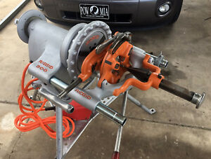 Ridgid 300 Pipe Threader Refurbished Converted To A Ridgid 300 t2 Complete