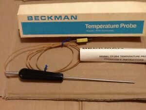 Beckman Instruments Temperature Probe Model Tp254