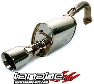 Tanabe Medalion Touring Axle back Exhaust 2007 Toyota Yaris Hatchback