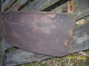 Vintage Oliver 88 Standard Tractor fender Extension Lh As Is