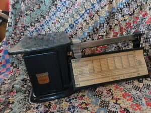 Triner Air Mail Accuracy Metal Postal Scale Original