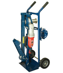 Current Tool 33 High Speed Cable Puller 3000 Rated W Mobile Cart