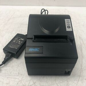 Snbc Btp r880np Pos Point Of Sale Thermal Printer W Power Supply Tested Working