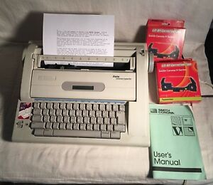 Smith Corona Dictionary Electronic Word Processor Typewriter Na3hh Ribbon Works