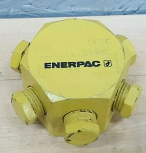 Enerpac A66 6 Port Hexagon Hydraulic Manifold New Old Stock