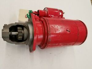 International Ih Td6 Reman Starter Diesel