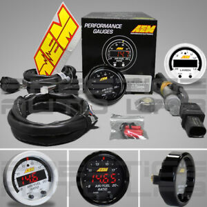 Aem X Series Wideband Uego Afr Sensor Controller Gauge With X Digital Combo Kit