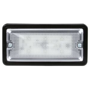 Truck lite 80162c 80 Series Led 6 Diode Rectangular Clear Dome Light 4 Sc