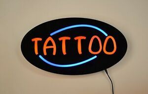 Led Neon Light Tattoo Business Sign