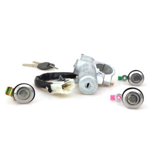 Ignition Switch Cylinder Steering Lock Fit 1998 01 Nissan Datsun 720 D22 Pickup