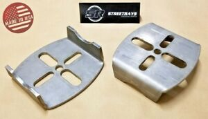 sr Rear Axle Lower Air Bag Mounting Brackets Air Ride Suspension Weld on Pair