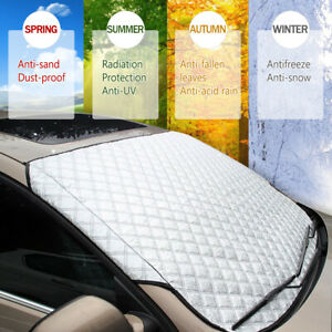 Car Windshield Cover Sun Shade Protector Winter Snow Ice Rain Dust Frost Guard A