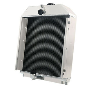 228587 Aftermarket Tractor Aluminum Radiator For Allis Chalmers Wc Wd Wf Wd45