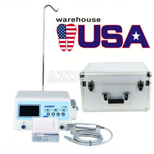 Azdent Dental Implant Motor System Led Surgical Brushless Contra Angle Handpiece