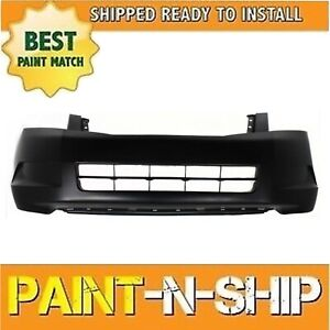 Fits 2008 2009 2010 Honda Accord Sedan Front Bumper Painted Ho1000254
