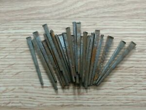 Vintage 25 Square Cut 2 2 1 2 Inch Straight Nails W Square Heads