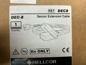 Nellcor Dec 8 Sp02 Extension Cable 8 New