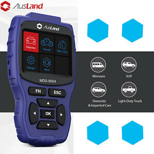 For Lexus Ford Jeep Gmc Scanner Obd2 Tool Rcm Abs Srs Fcdc All Ecu Code Reader