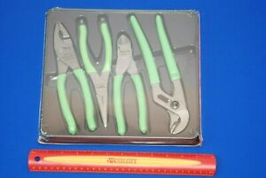 New Snap On 4 Pc Pliers Cutters Set Pl400bg 47acf 91acp 96acf 87acf Shipsfree