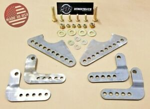 Sr Coil Over Shock Mount Kit Adjustable Lower Brackets For Up To 3 Axle Tubes