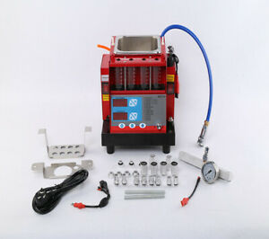 4 Jars Cylinders Automotive Fuel Injector Tester And Ultrasonic Cleaner Mst 30