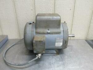 Baldor 37c11 90 Electric Motor 5 Hp 115 230 Volt 1725 Rpm 1 Ph Single Phase
