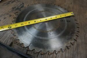 12 Dinosaw Circular Saw Blade For Straight glue Line Rip Saw 1 1 2 Bore 40 T