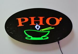Led Neon Light Pho Business Sign With Remote Control