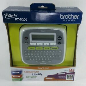 Brother P touch Pt d200 Label Thermal Printer Home And Office Labeler