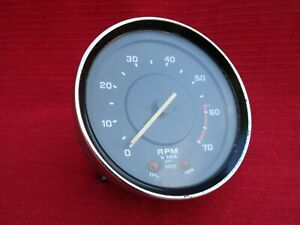 Late Model 1973 1976 Triumph Tr6 Tachometer Smiths Gauge Tested And Works