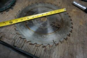 12 Dinosaw Frezite Circular Saw Blade For Glue Line Rip Saw 1 1 2 Bore 36 T