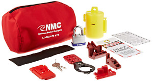 Nmc Blok3 18 Piece Electrical Lockout Pouch Kit