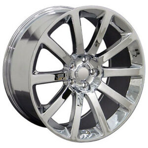 Chrome Wheel 22x9 For 2005 2014 Chrysler 300 Owh1446