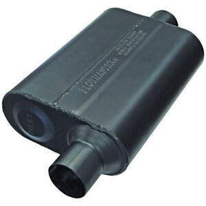 942546 Flowmaster Super 44 Muffler 2 5 Offset Inlet Center Outlet