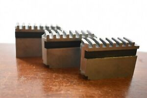 6 Buck Chuck 3 Jaws Set For Lathe Chuck Soft Used