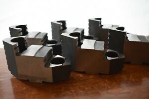 Bison Lathe Chuck Hard Top Jaw For 10 6 Piece Set