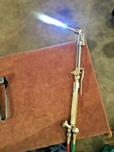 really Nice Harris Angled Head Cutting Torch Tip Smith Victor Torch